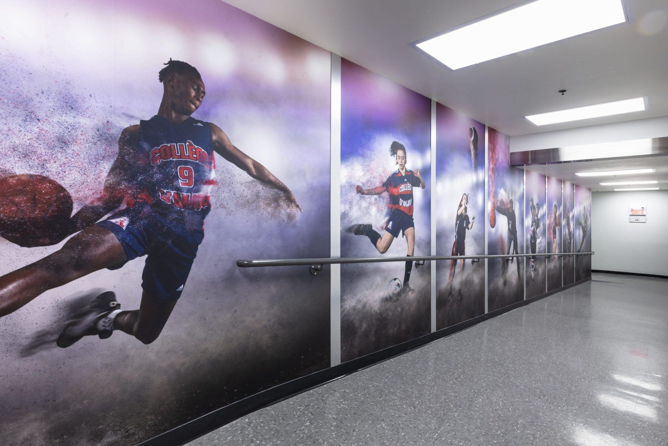 Couloir des sports